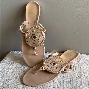 Jack Rogers Georgica Thong Sandals Flip Flops 9